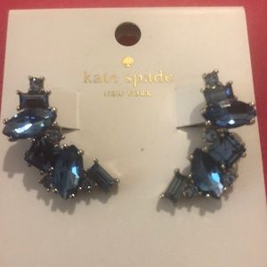 Kate Spade Crystal Drop Earrings NWT